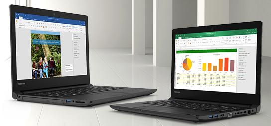 TECRA business laptops
