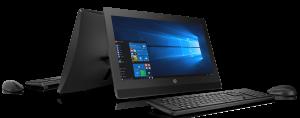 Pro One 400 jest urządzeniem typu All-in-One przeznaczonym do pracy biurowej w związku z czym HP postarało się o to, aby system był jak najbardziej funkcjonalny